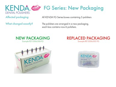 KENDA - packaging change - FG Series